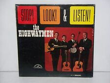 SEALED THE HIGHWAYMEN STOP LOOK & LISTEN LP ABC PARAMOUNT RECORDS ABC-543