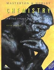 Chemistry: Principles & Reactions by Masterton & Hurley, 5th Edition (Hardcover)