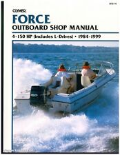 Used 1984-1999 Force 4-150 hp Outboard Boat Engine Repair Manual