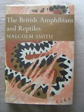 book THE NEW NATURALIST 20 The British Amphibians and Reptiles MALCOLM SMITH HB