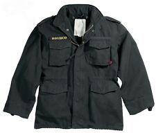 black m-65 field jacket vintage style military coat M65 rothco 8608