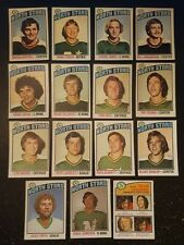 1976-77 OPC MINNESOTA NORTH STARS Select from LIST NHL HOCKEY CARDS O-PEE-CHEE