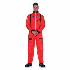 Underwraps Astronaut Orange Nasa Adult Plus Teen Mens Halloween Costume 29137