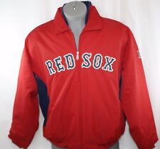 NEW Womens MAJESTIC Boston RED SOX Premier Triple Peak Baseball Jacket NO TAG