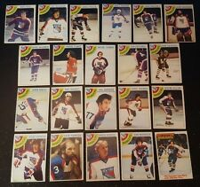 1978-79 OPC NEW YORK RANGERS Select from LIST NHL HOCKEY CARDS O-PEE-CHEE