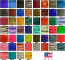 550 Paracord Parachute Cord Solid Colors 50ft Hanks USA Made
