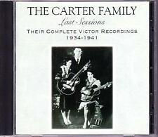 CARTER FAMILY CD 1934-1941 Their Complete Victor Recordings - Rounder 1072