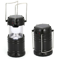 Portable LED Lantern Folding Rechargeable Lamp Light Hand Solar Camping Outdoor