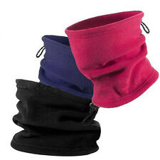3 in 1 Winter Sport Thermal Fleece Scarf Snood Neck Warmer Face Mask Beanie Hat