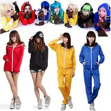 Women Vocaloid Matryoshka Miku Len Rin Gumi Cosplay Hoodies Costume Jacket NEW