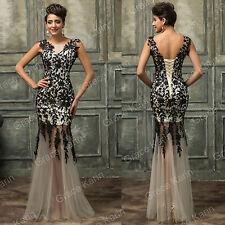 New Collection Lace Long Bridesmaid Evening Formal Party WEDDING Dress Prom Gown