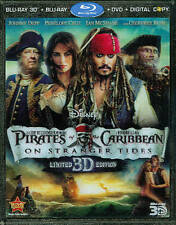 Pirates of the Caribbean: On Stranger Tides (2D/3D Blu-ray/DVD, 2011, 5-Disc Set