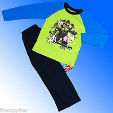Boys Authentic Official Avengers Hulk Pyjamas Age 3-10 Years
