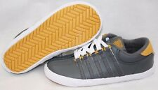 NEW Infant Toddler K-Swiss Classic 201068 Grey Gold White Sneakers Shoes