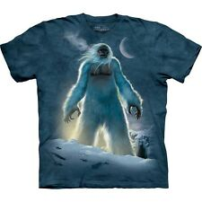 Sasquatch - BigFoot - Yeti In Forest Shirt, Small - 5X, graphic t shirt