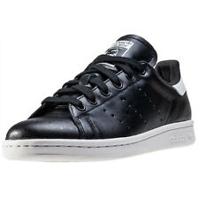 adidas Stan Smith Womens Trainers Black White New Shoes