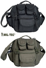 US Army Combat Military Butt Waist Pack Shoulder Travel Bum Bag Black Green New