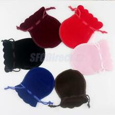 20Pcs Velvet Drawstring Bags Storage Jewelry Presents Bag Wedding Gift Pouch