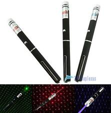 1/3 Color New 2 in 1 Star Cap 405nm 1mW Laser Pointer Pen for Party$Job DC