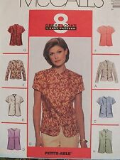 OOP McCALLS 9147 Tops/Jackets~8 Easy Looks PATTERN 8-10-12-14-16-18-20-22-24 UC