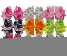 "9pcs 4"" Baby Kids Girls boutique bows Clips Hair Accessories 37STYLES BOWKNOT"