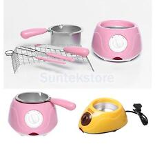 Electric Single Oven Chocolate Cheese Melting Pot Boiler Fondue DIY Heater Set