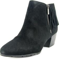 Kenneth Cole Reaction Pil-ates Women  Round Toe Suede Black Bootie NWOB