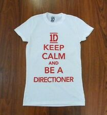 Juniors NEW One Direction 1D Keep Calm And Be A Directioner T-Shirt