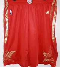 NEW Mens ADIDAS 2013 NBA Authentic Western Conference ALL STAR Game Red Shorts