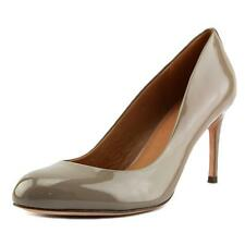 Coach Rosey  Women  Round Toe Patent Leather Gray Heels