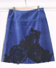 Very Cool Velvet Lace Skirt from Anthropologie Elevenses Size 4 SALE!
