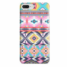 Bright Aztec Tribal Geometric Slim Fit Phone Case Cover for iPhone Samsung
