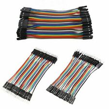 40 Pcs Dupont Jumper Wire M-M / M-F / F-F Cable Pi Pic Breadboard For ArduinoNew