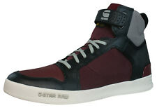 G-Star Raw Yard Bullion Mens Leather Sneakers / Boots - Wine