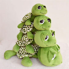 NEW Toy Big Eyes Green Tortoise Sea Turtle Stuffed Plush Doll Animal Toy Gift
