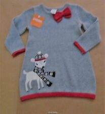 Gymboree Holiday Shop Reindeer Sweater Dress 18-24, 2t, 4t NWT