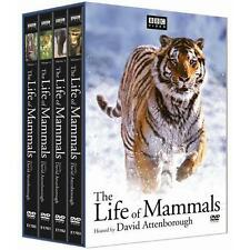 THE LIFE OF MAMMALS (4 DVDs, 2008 Digi Pack)  David Attenborough Great condition