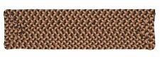 Tiburon Indoor Outdoor Rectangle Braided Stair Tread, Sandstorm ~ Made in USA