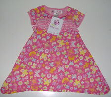 NWT Baby Lulu girls boutique floral ruffle dress 100% cotton 2T or 3T or 4T