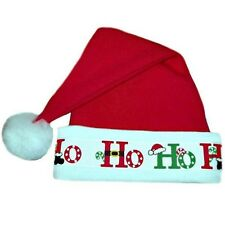 Ho Ho Ho Baby Santa Hat - 7 Sizes Preemie, Newborn & Toddlers Up To 24 Months
