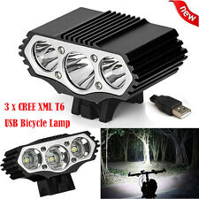 12000 LM 3x XML T6 3 Modes LED Bicycle Lamp Bike Light Headlight Cycling Torch