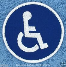 HANDICAPPED PATCH SERVICE DOG 3 in Danny & LuAnns Embroidery assistance support