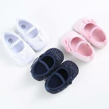 Princess Toddler Newborn Kids Baby Girl Casual Soft Lace Cotton Shoes Prewalker