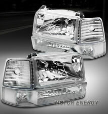 1992-1996 FORD F150 F250 BRONCO HEAD LIGHTS+BUMPER 1995