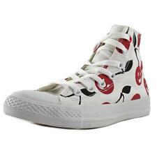 Converse Chuck Taylor All Star Print Hi Women  Round Toe Canvas White Sneakers