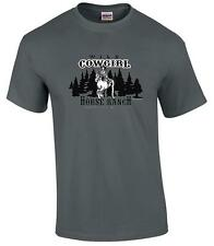 Funny Wild Cowgirl Horse Ranch Where Girls Stay on Top T-Shirt