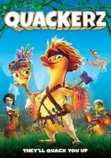 QUACKERZ (DVD, 2016) WITH SLEEVE