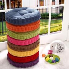 Indoor Dining Garden Patio Home Office Round Chair Seat Pads Soft Warm Cushion