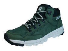 Caterpillar Interact Mid Mens Leather Boots / Sneakers - Green