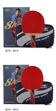 Double Fish carbon Table Tennis racket ping pong paddle blade bat 8A w. case,USA